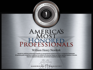 Americas Most Honored Professionals Top 1 Percent