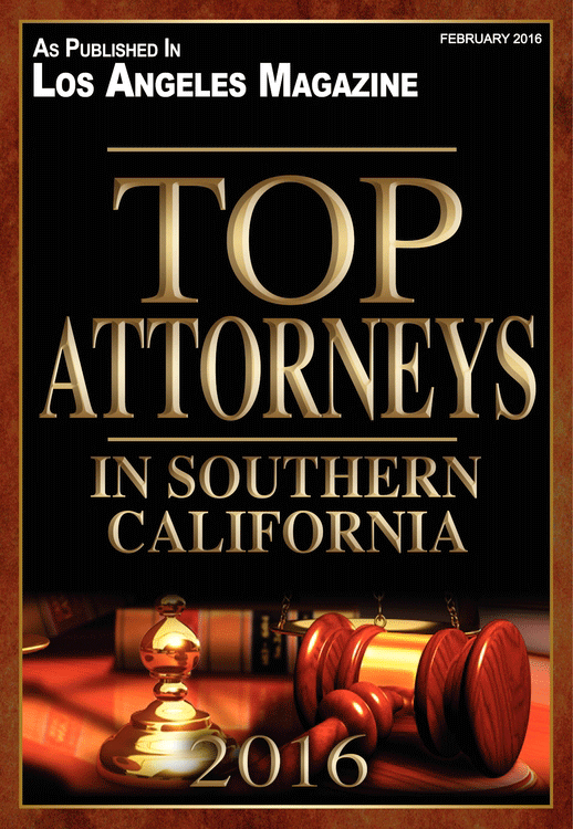 Top Attorneys In Southern California 2016